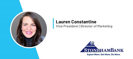 Lauren Constantine, Stoneham Bank