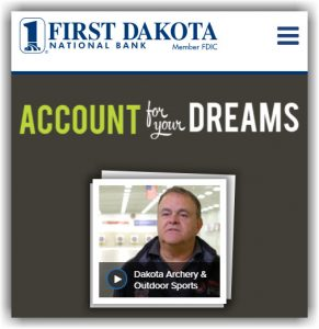Account for Your Dreams by First Dakota National Bank